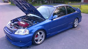 1999 Honda Civic SiSi Coupe 2-Door